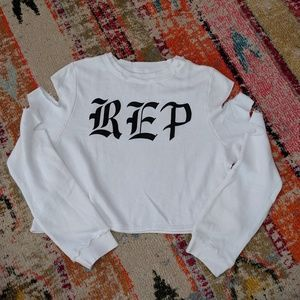 Taylor Swift Reputation Tour Cropped Sweatshirt